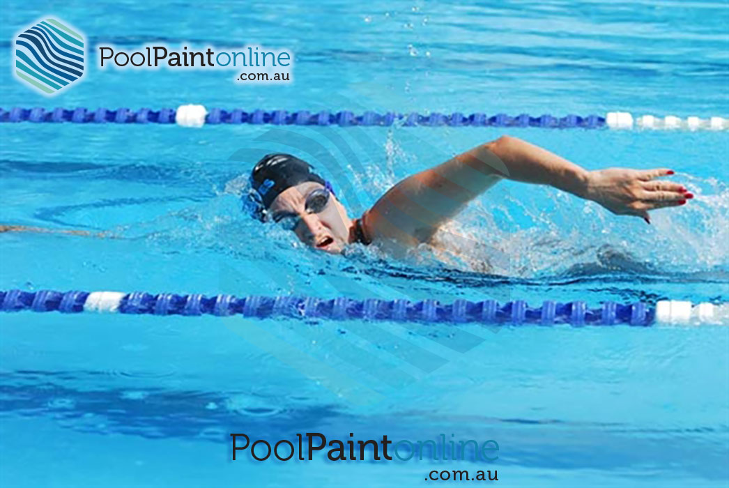 Pool paint online supplier of luxapool swimming pool for Commercial pools