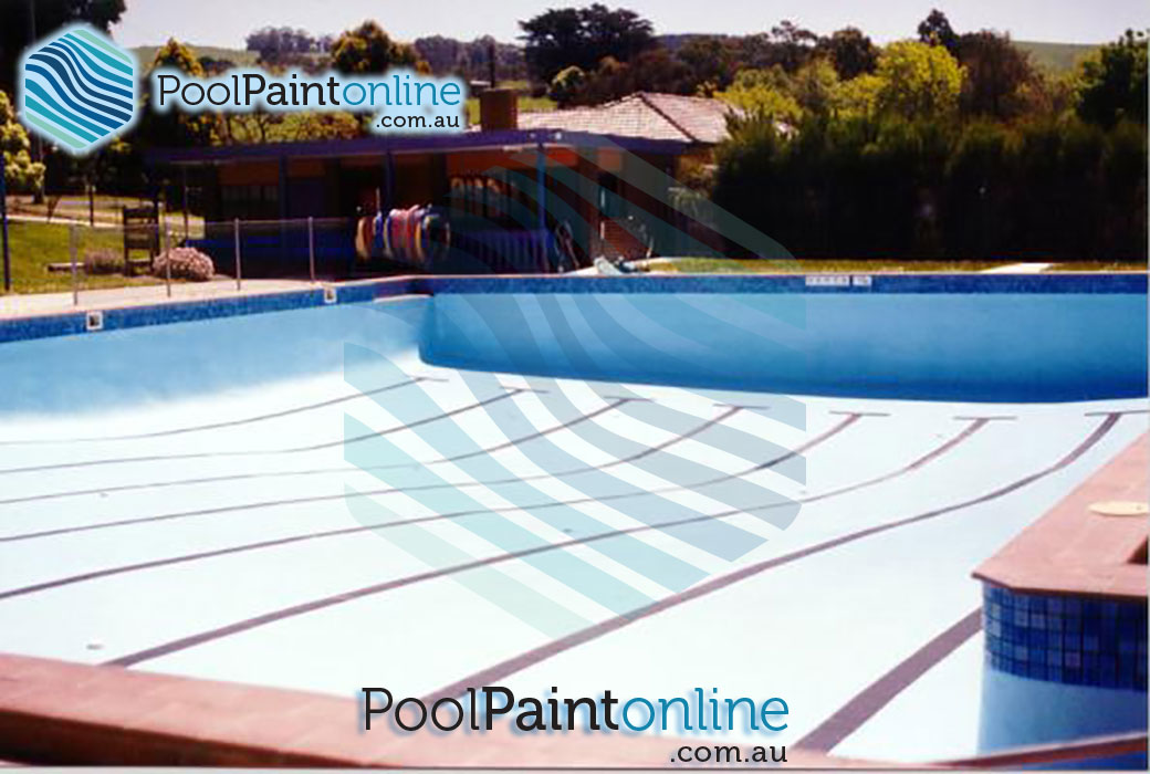 Pool paint online supplier of luxapool swimming pool for Commercial swimming pool