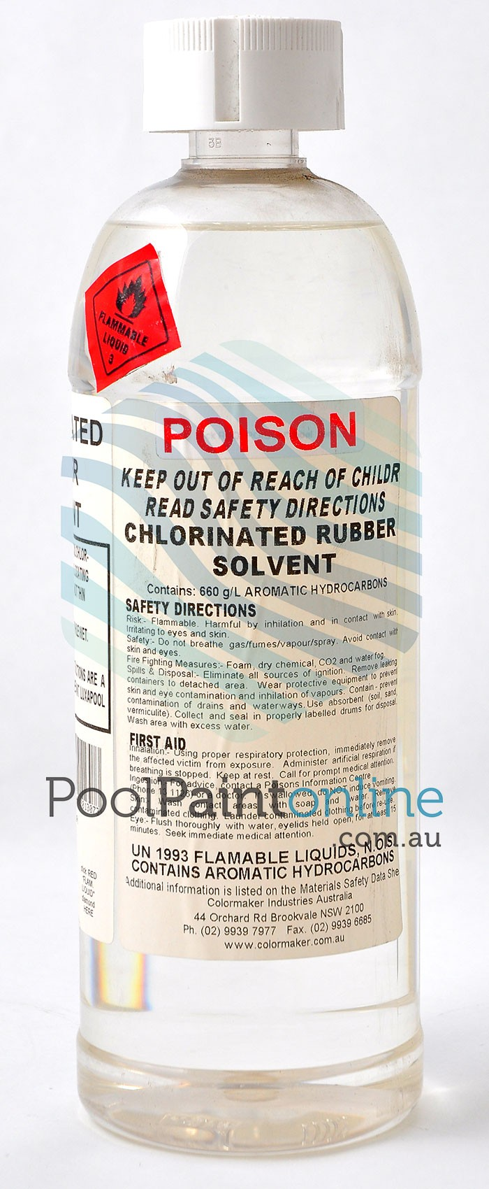 Luxapool Chlorinated Rubber Solvent 1l