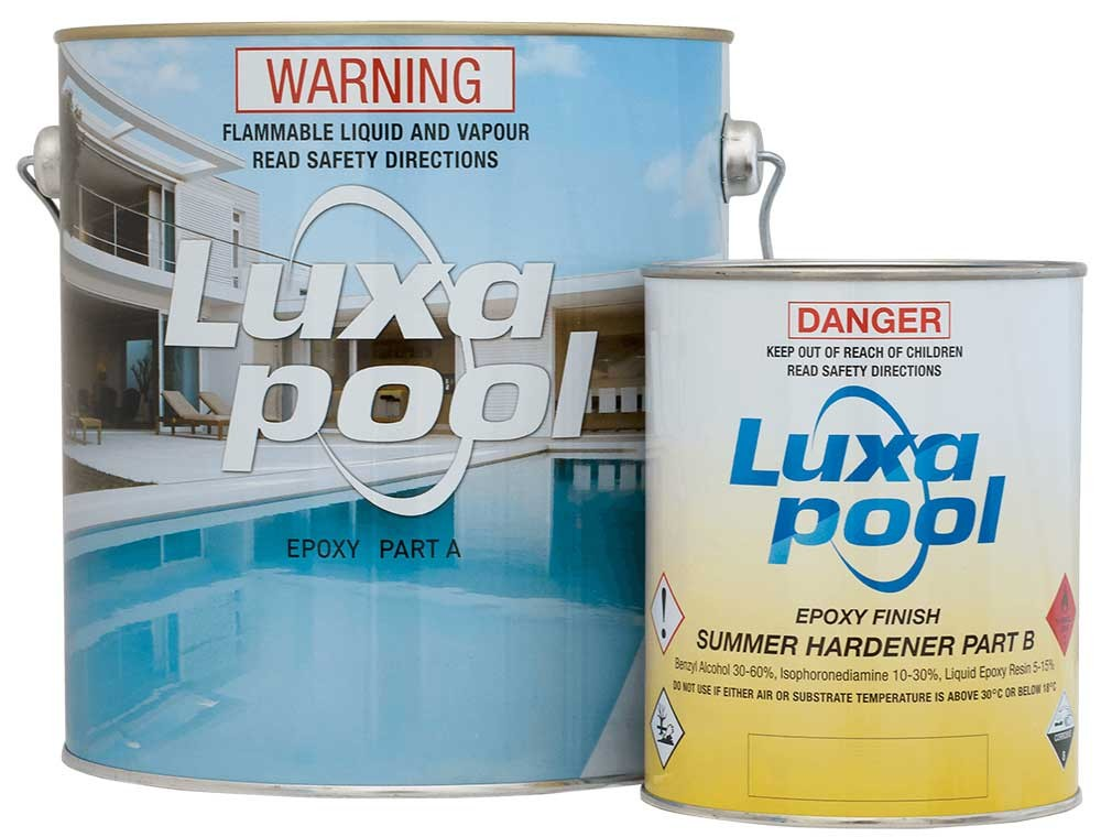 Luxapool 3.5 Litre Epoxy Pool Paint Kit (Summer Hardener)